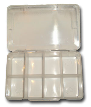 8 Compartment Fly Box