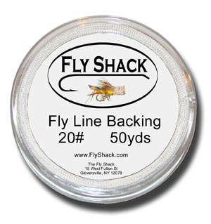 Fly Shack Backing - 50 yrds