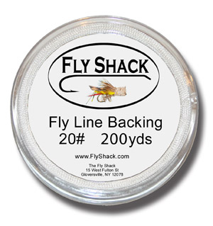 Fly Shack Backing - 200 yrds