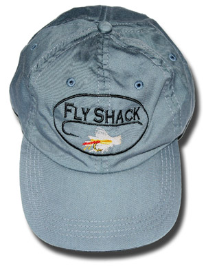 <font color=red>On Sale</font><br>Fly Shack Ball Cap - Gray