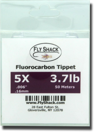 Fly Shack Fluorocarbon Tippet - 50 Meters