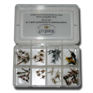 Fly Box Essentials Assortment - 50 Flies