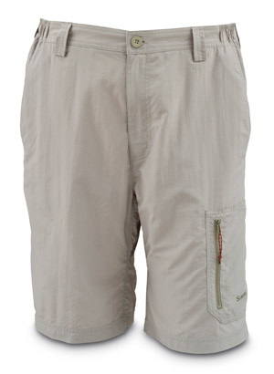 <font color=red>On Sale - Clearance</font><br>Simms Flyte Short - Dark Khaki