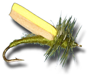 Foam Wing Caddis - Olive