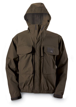 <font color=red>On Sale - Clearance</font><br>Simms Freestone Jacket - Brown