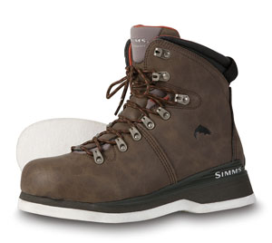 Simms Freestone Boot - Felt - Brown