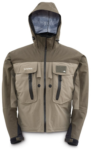 Simms G3 Guide Jacket - Black Olive / Elkhorn