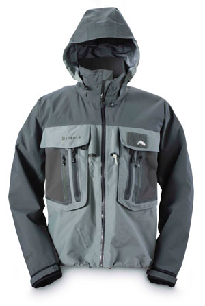 <font color=red>On Sale - Clearance</font><br>Simms G4 Pro Jacket - Gunmetal