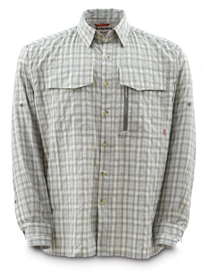 <font color=red>On Sale - Clearance</font><br>Simms Glenbrook Shirt - Pewter