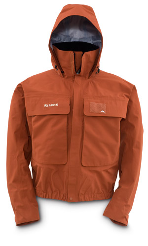 <font color=red>On Sale - Clearance</font><br>Simms Guide Jacket - Orange