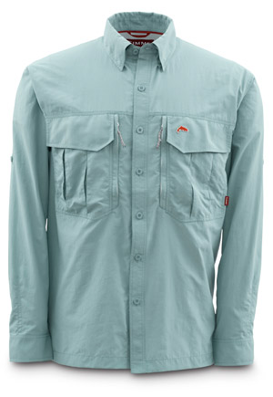 <font color=red>On Sale - Clearance</font><br>Simms Guide Shirt - Slate Blue