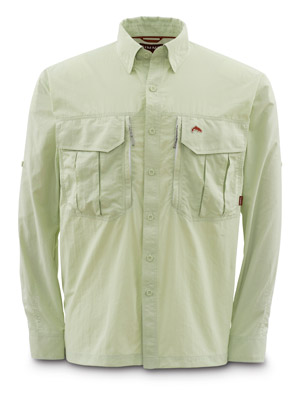 <font color=red>On Sale - Clearance</font><br>Simms Guide Shirt - Wasabi