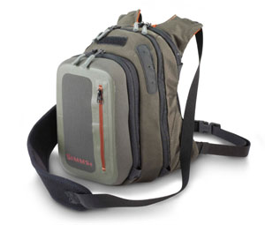 <font color=red>On Sale - Clearance</font><br>Simms Headwaters Chest Pack - Coal