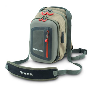 <font color=red>On Sale - Clearance</font><br>Simms Headwaters Chest Pack - Dk Elkhorn