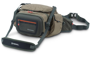 <font color=red>On Sale - Clearance</font><br>Simms Headwaters Pro Waist Pack - Dk Elkhorn