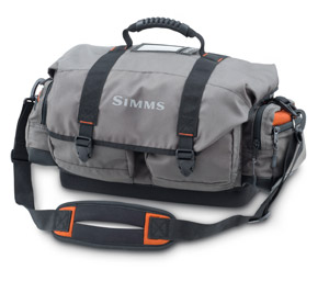 <font color=red>On Sale - Clearance</font><br>Simms Headwaters Tackle Bag - Dk Elkhorn