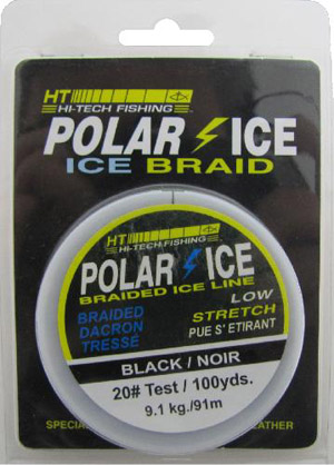 Polar Ice - Premium Ice Braid Tip-up Line - 100 yard Spool
