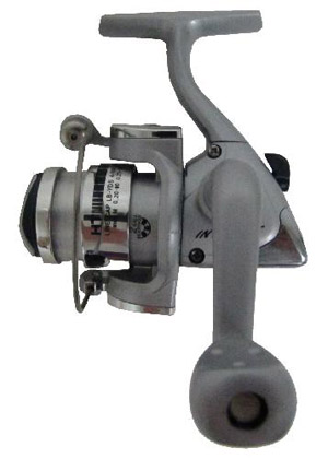 Intrigue - 2 Bearing Ice Spinning Reel - Silver Plated Spool