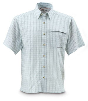 <font color=red>On Sale - Clearance</font><br>Simms Inlet Shirt - River