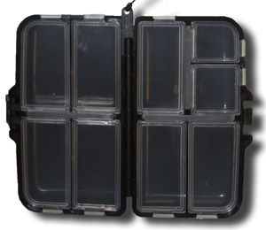 Meiho 9 Compartment Fly Box