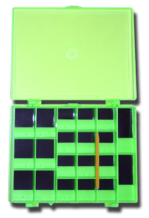 Magnetic Hook Box - 44 Compartments