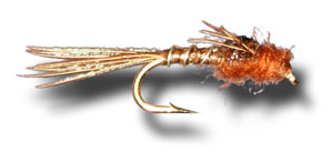 Micro Mayfly - Brown