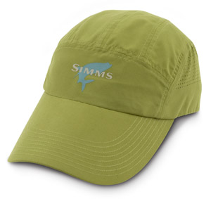 <font color=red>On Sale - Clearance</font><br>Simms Microfiber Long Bill Cap - Turtle Grass