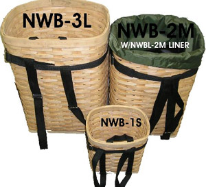 Nature Escape Wicker Pack Basket - Medium