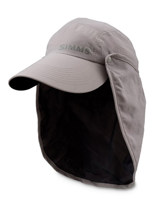 <font color=red>On Sale - Clearance</font><br>Simms No Fly Zone Sunshield Hat - Antelope