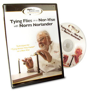 "NorVise ""Tying Flies With Norm"" DVD"