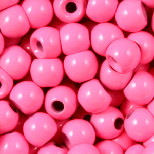Tungsten Nymph Beads - 100/Bag - Fl Pink