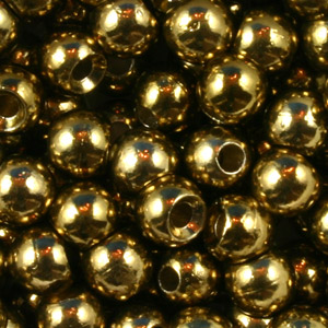 Tungsten Nymph Beads - 100/Bag - Metallic Olive