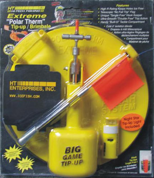 HT Polar Therm Extreme Tip-up - Yellow w/Night Star Light