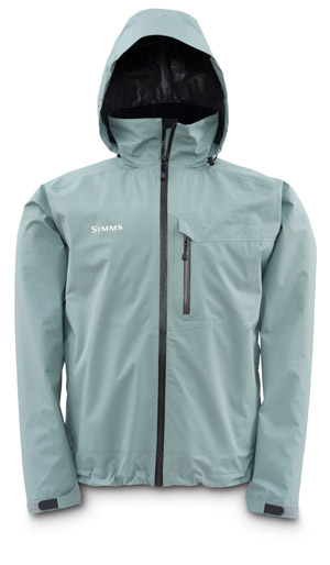 <font color=red>On Sale - Clearance</font><br>Simms GORE-TEX Paclite Jacket - Smoke Blue