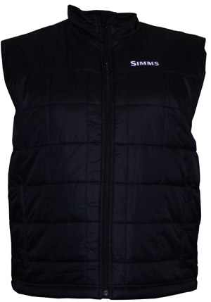 <font color=red>On Sale - Clearance</font><br>Simms Primaloft Vest - Black