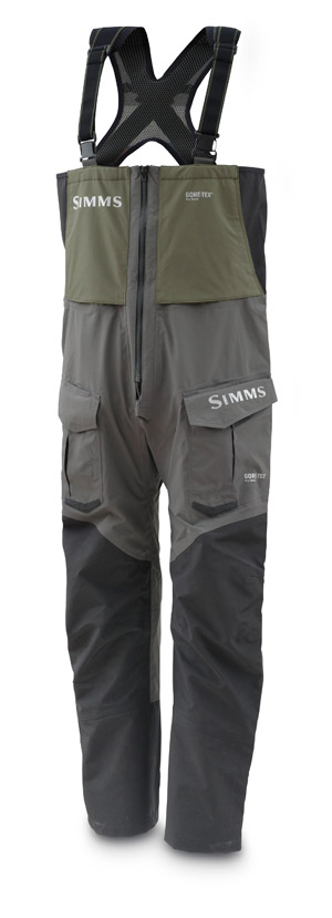 <font color=red>On Sale - Clearance</font><br>Simms ProDry GORE-TEX Bib - Delta Green