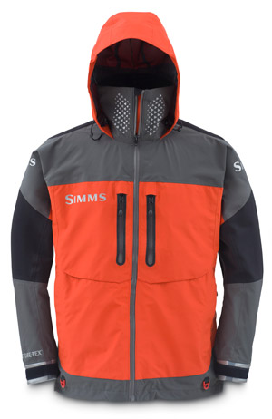 Simms ProDry GORE-TEX Jacket - Fury Orange