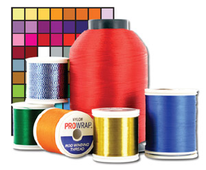 ProWrap Nylon Rod Building Thread - Size D - 100yds