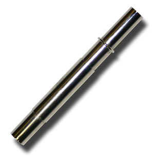 Reinforced Brass Ferrule - Chrome Plated - 9.5 mm