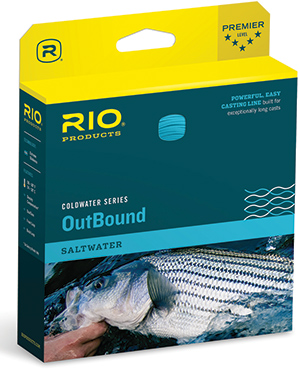 Fly fishing flies on sale clearance rio outbound for Best saltwater fishing line color