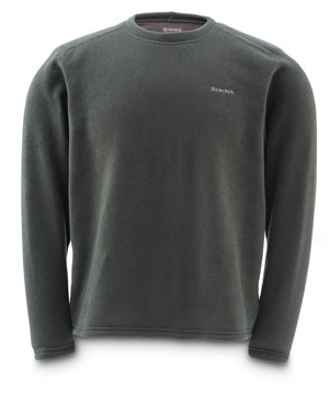 <font color=red>On Sale - Clearance</font><br>Simms Rivershed Crew Neck - Loden