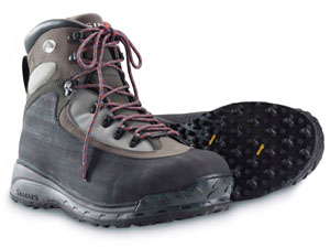 <font color=red>On Sale - Clearance</font><br>Simms Rivershed Boot - Streamtread
