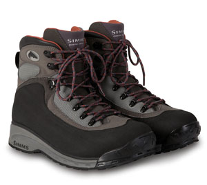 <font color=red>On Sale - Clearance</font><br>Simms Rivershed Boot - Felt - Grey