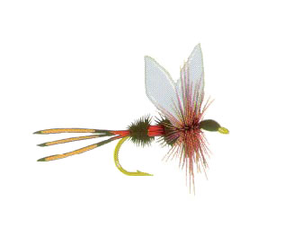 Iridescent Decal - Royal Coachman Fly - FD-FLY