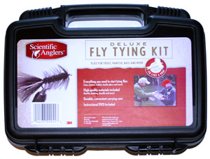 Scientific Anglers Deluxe Fly Tying Kit w/DVD