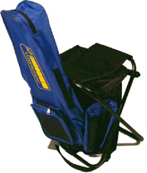 HT Sit Pack w/Rod Case - Black