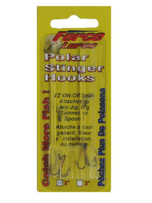 Polar Stinger Treble Hooks - Bronze 2/PK