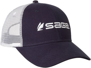 Sage Trucker Hat - Blue