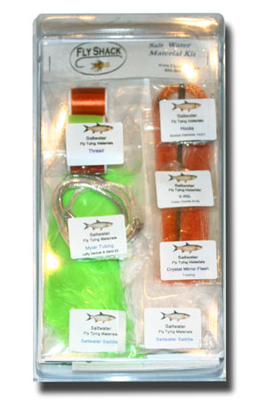 Salt Water Fly Tying Materials Kit