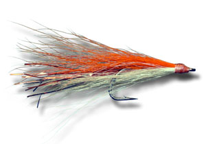 Shark-Cuda Fly - Orange & White